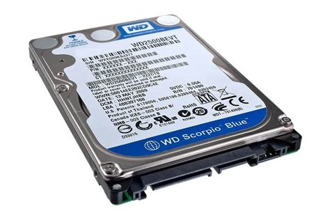 Hardisk Laptop Wd Scorpio Blue 500gb western digital scorpio blue wd7500bpvt review a 750gb wd