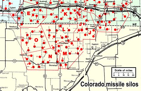 map us missile silos colorado s nuclear missile silos colorado overview map