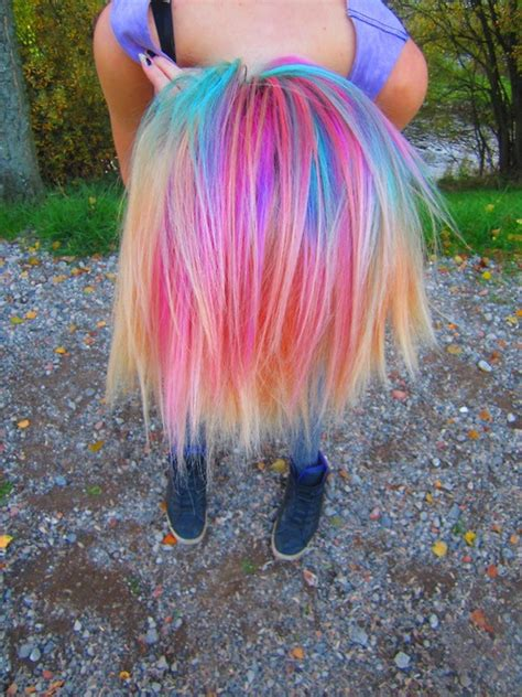 multi colored hair ideas multi colored hair c beautification ideas