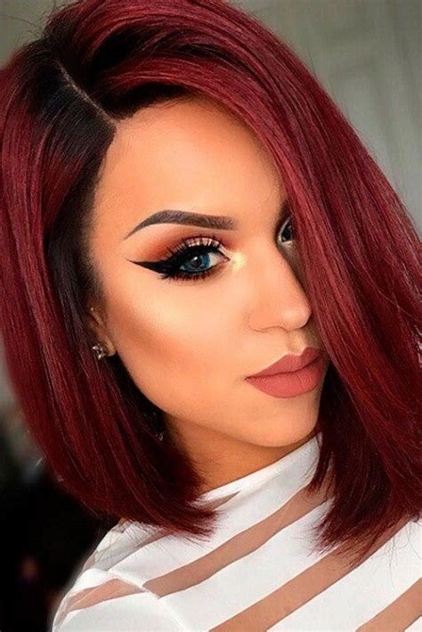 trendy cuts for vibrant red hair 30 short red hair color ideas 2018 short red hair red