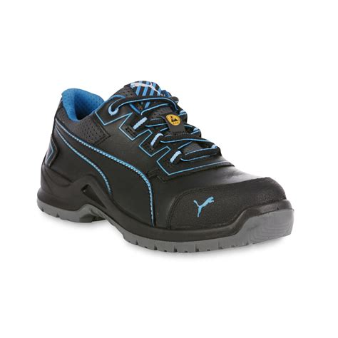 most comfortable safety toe shoes puma safety women s niobe steel toe work shoe black blue