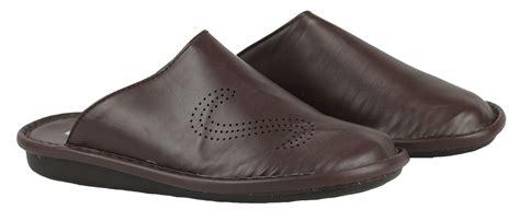 mens closed toe slip on sandals mens faux leather slip on closed toe walking sandals in