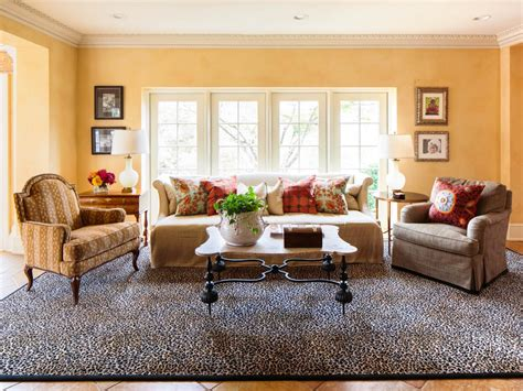 Leopard Print Living Room Decor Modern House Decorative Rugs For Living Room
