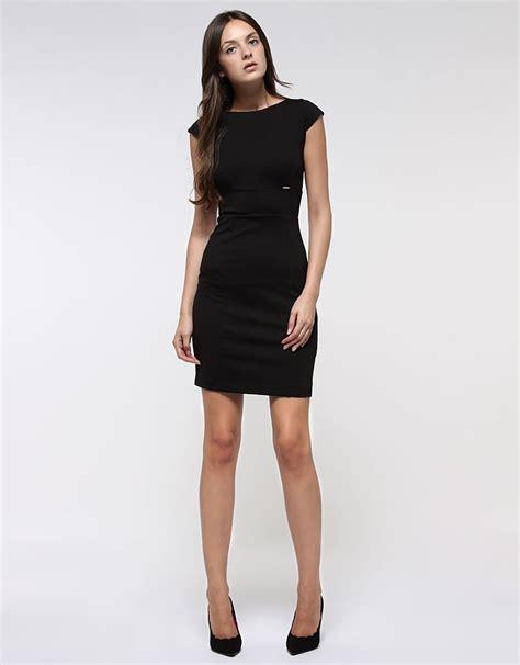 vestimenta formal mujer vestido negro liso vestidos ropa mujer fashion