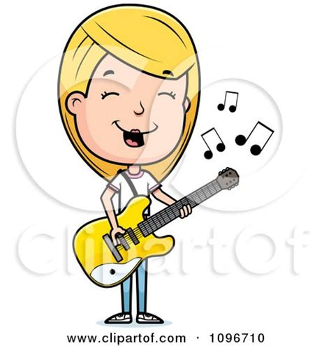 girl playing guitar clip art royalty free rf guitarist clipart illustrations vector
