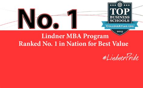 Best Value Mba by Carl H Lindner College Of Business Of Cincinnati