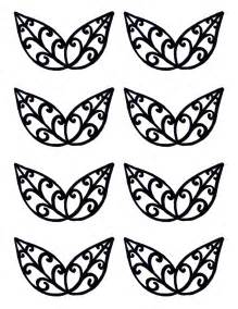 Chocolate Filigree Templates by Filigree Templates Cake Ideas And Designs