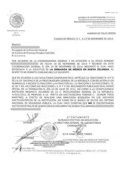 papeles para la carta de antecedentes no penales 2016 delgado ribenack traductores asociados s c