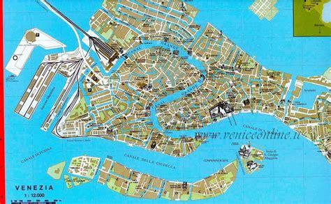 venice italy map map of venice italy