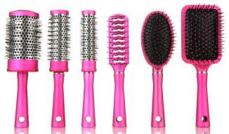 types of hair brushes to use for different hair types a