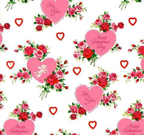 valentines wrapping paper vintage valentines day wrapping paper printables