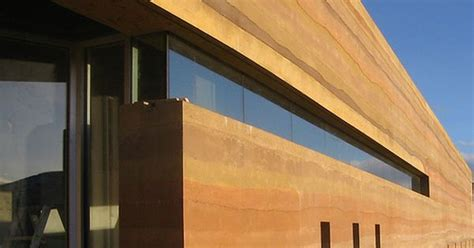 lake chapala rammed earth home house hunting sirewall stabilized insulated rammed earth rammed