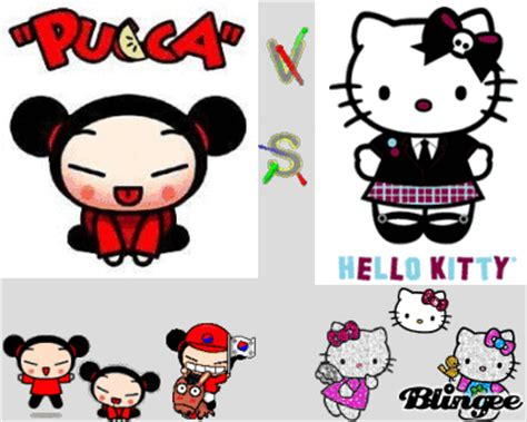 imagenes de hello kitty y pucca pucca vs hello kitty picture 97267095 blingee com