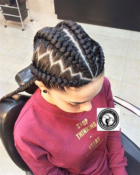 zig zag braid pattern 30 gorgeous ghana braids for an all black style all