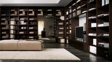 librerie moderne libreria in legno componibile a parete wood sololibrerie
