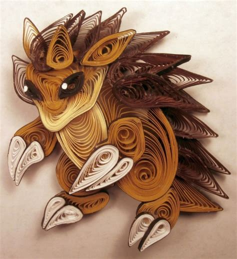 Crafts With Quilling Paper - paper quilling characters craft ideas
