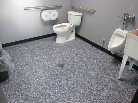 commercial bathroom flooring commercial garage cabinets and epoxy floor coatings