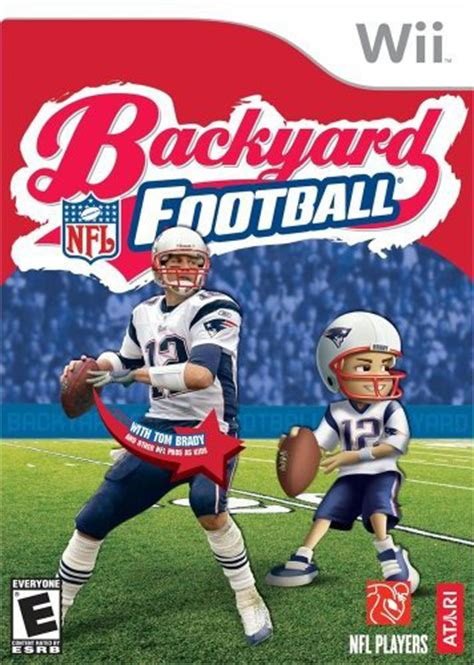 backyard football box for wii gamefaqs