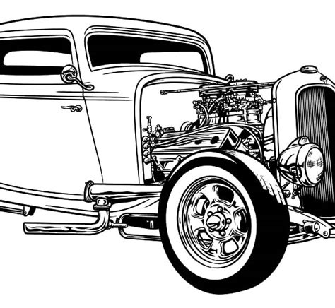printable coloring pages hot rods old hot rod coloring pages coloring pages