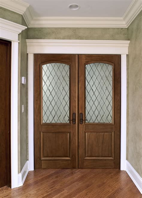 Custom Interior Doors Interior Door Custom Solid Wood With Walnut