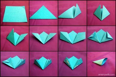 Origami Kusudama Flower Step By Step - kusudama paper flower petal steps origami tutoriais