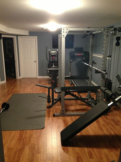 How To Decorate A Small House built a home gym fitness