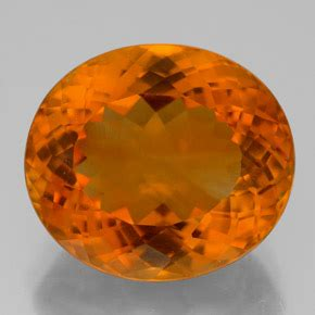 Ruby 11 7ct 11 7ct yellow orange citrine gem from brazil and