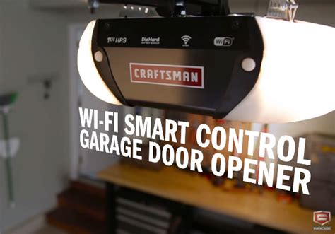 Smart Garage Door Opener Craftsman 1 1 4 Hps Smart Garage Door Opener Iphoneness