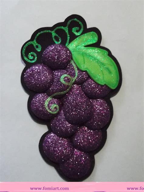 imagenes de uvas en foami uvas hechas en foami imagui