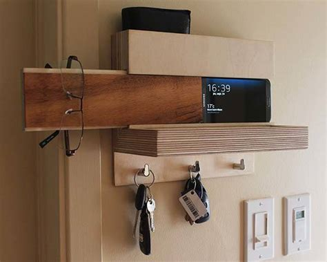 Home Interior Design Diy The Handmade Wall Organizer Keeps Your Accessories Easily