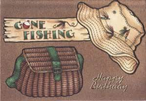 gone fishing birthday card tassie scrapangel male