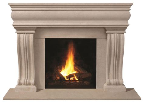 1106 536 cast mantel transitional fireplace