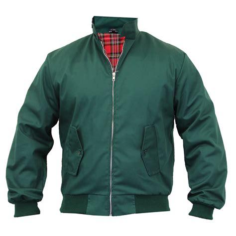 Jaket Bomber Jaket Casual Jaket Anti Air mens harrington jacket coat retro vintage bomber tartan