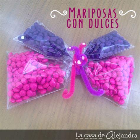 dulces para hacer en casa la casa de alejandra mariposas con dulces
