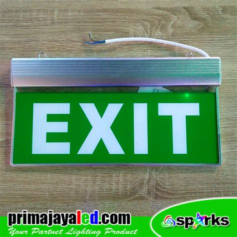 Jual Lu Emergency Halogen jual lu gantung sign led emergency exit harga murah