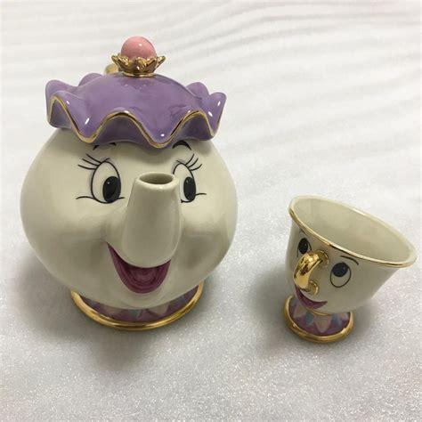 Teapot And The mrs potts and the beast teapot mug chip tea