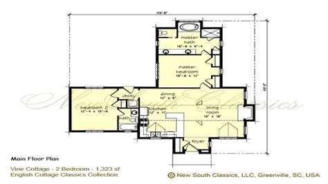 2 bedroom cottage house plans 2 bedroom house plans with simple house plan with 2 bedrooms