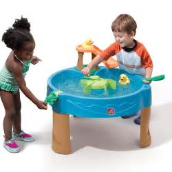 duck pond water table sand water play step2