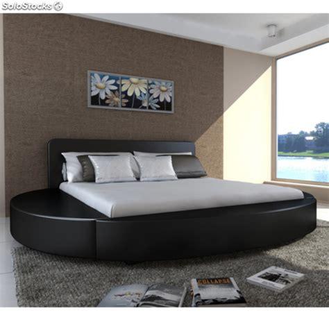 colchones de 180 x 200 cama de matrimonio redonda negra con colch 243 n incluido 180
