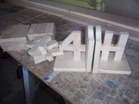 4 h woodworking projects 4 h club woodworking project bookends