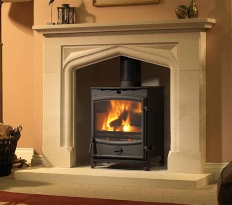 25 best stove mantels images on fireplaces
