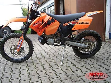2006 Ktm 250 Exc Ktm 250 Exc 2006 Specs And Photos