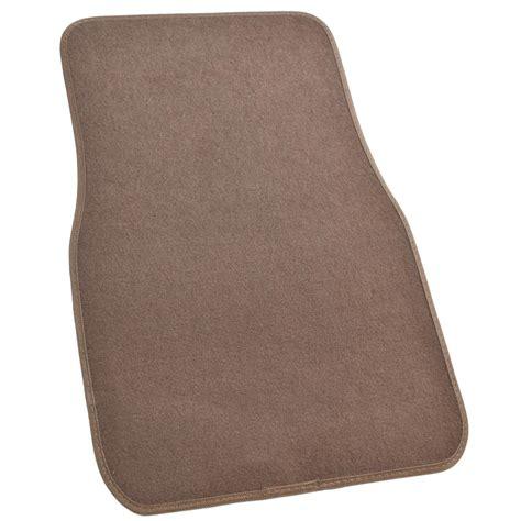 Brown Car Mats by Brown Carpet Car Floor Mats Set Of 4 Driver Passenger