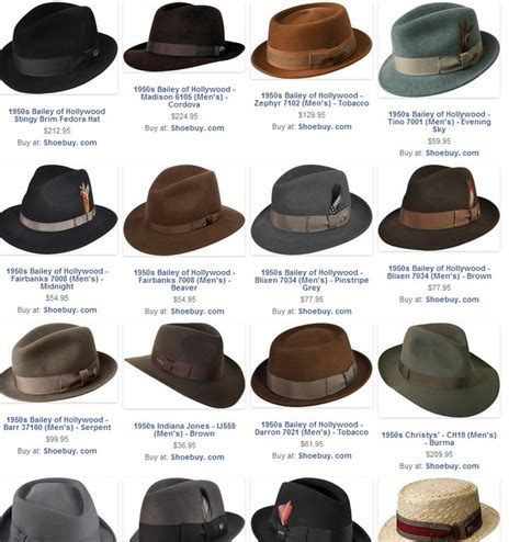 5 Hat Styles Which Will You Rock by S Hat Styles In The 1950s Fashion Ah