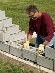 Oval Kitchen Islands how to build a cinder block wall in a fast way
