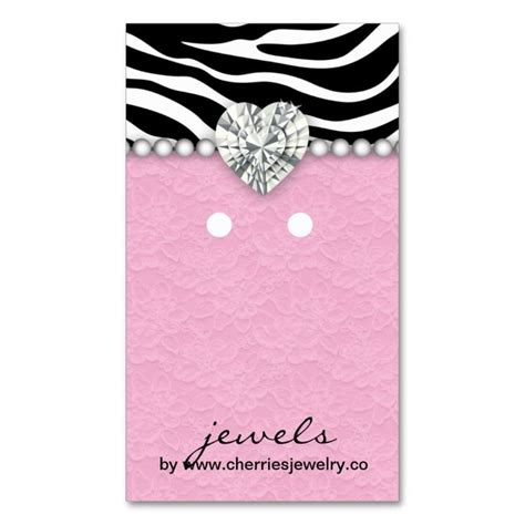 jewellery cards templates 1565 best earring display card templates images on