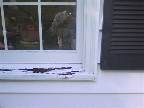 Replacement Window Sills Pvc Windows Rotten Sill Windows Siding And Doors