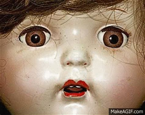 haunted doll gif scary dolls gif www pixshark images galleries with