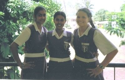 school multiethnic girls different uniform prrrfection a sailing circumnavigation