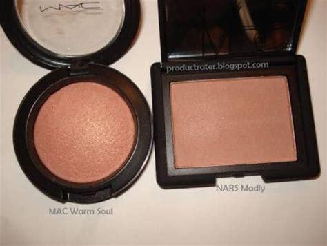 warm blush productrater blush comparison mac warm soul nars